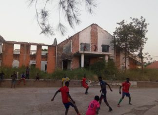 Le bâtiment de l'ancien ministre de l'habitat à Labé Alpha Ousmane Diallo