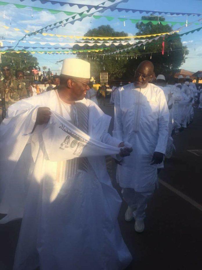 Kassory fofana danse la mamaya à Kankan