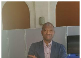 Macka Balde, vice-président des NFD, administrateur général de libreopinionguinee.com, de la radio libre opinion Rlo et de Boufad.com