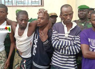 Braquage Pita, Guinée bandit