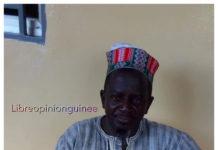 Elhadj Amadou Baïlo Diallo, président de la coordination Haali Poular et Fulbhe de Kankan. Credit photo libreopinionguinee