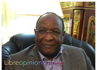 Lansana Kouyaté, ancien premier ministre guinéen et président du PEDN. Crédit photo libreopinionguinee
