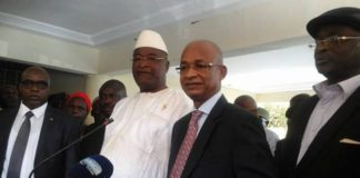 Alliance UFDG-UDG Cellou Dalein Diallo et Mamadou Sylla