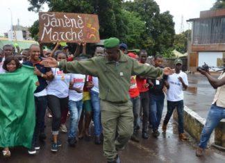 Lieutenant colonel Mamadou Alpha Barry de la gendarmerie nationale