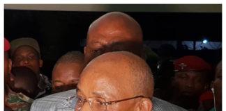 Cellou Dalein Diallo et Damaro Camara au qg de l'ufdg