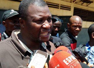 Cheick-Cherif-Toure syndicat au port de Conakry
