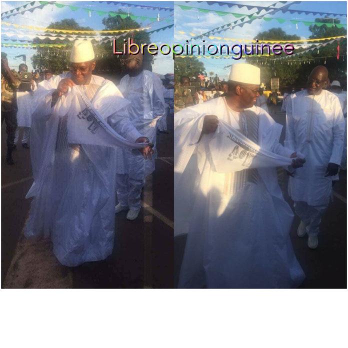 Kassory Fofana à la mamaya de Kankan