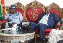 Le premier ministre Kassory Fofana chez Mamadou Sylla