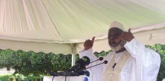 L'imam Elhadj Mamadou Saliou Camara