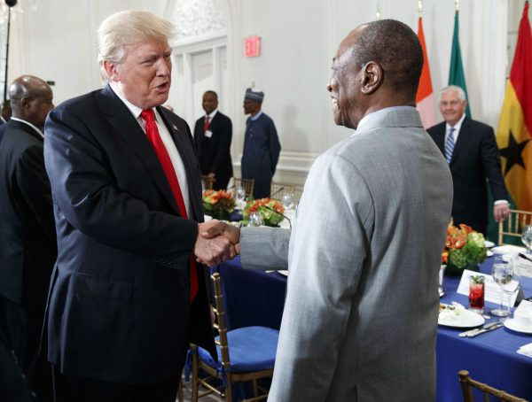 Donald Trump et Alpha Condé