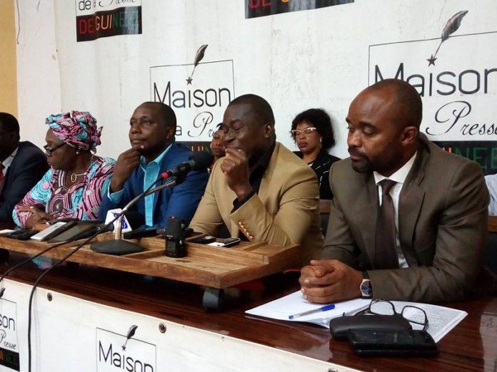 avocats de Dr Ousmane Kaba du parti pades