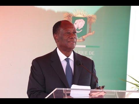 Alhassane Drahmane Ouatara, président de la Cote-d'ivoire