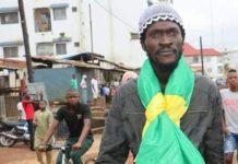 Sékou koundouno du balai citoyen