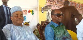 Alpha Condé et Bah Ousmane UPR au siège du RPG