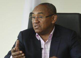 Ahmad, le président de la Confédération africaine de football (CAF)