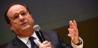 François Hollande était à Cherbourg vendredi