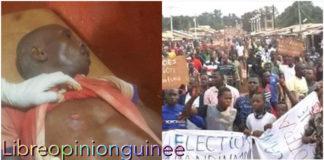 Manifestation à Mandiana : 4 blessés par balle et un mort (porte-parole)