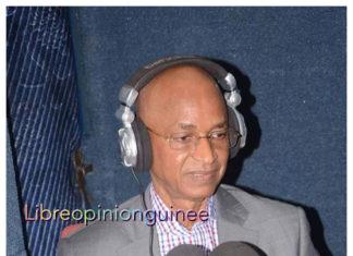 Le President de l'ufdg Cellou Dalein Diallo à la radio lynx fm