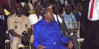 Alpha Condé au palais du peuple de conakry