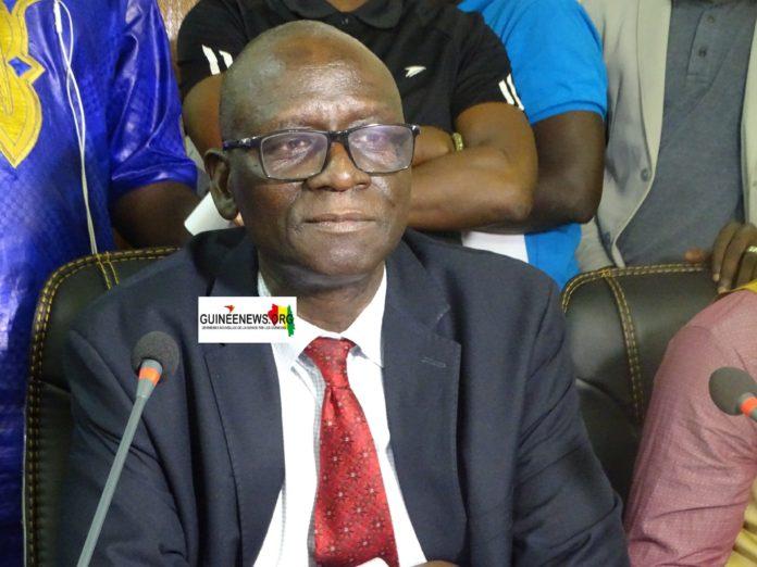 Le DAF entendez, Directeur financier et comptable du PAC (Port Autonome de Conakry), Ibrahima Kalil Kéita