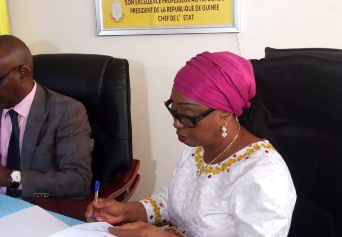 Hawa Keita ancienne directrice du port de conakry