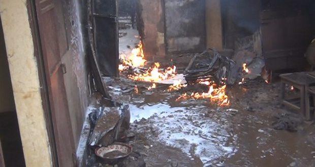 Labé: un commissariat de police incendié par des inconnus