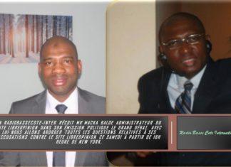 Macka Baldé sur la Radio Basse-cote Etats-Unis
