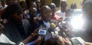 l'avocat Me salifou béavogui sur le procès Moussa Yero Bah journaliste