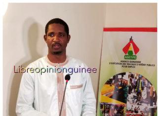 Mouctar Diallo ministre de la jeunesse et de l'emploi jeunes