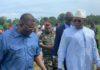 Le PM Kassory sur les rives de la Fatala à Boffa