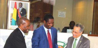 Mouctar Diallo à Bruxelles pour la célébration de l'an 60