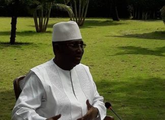 Sidya Touré président de l'UFR