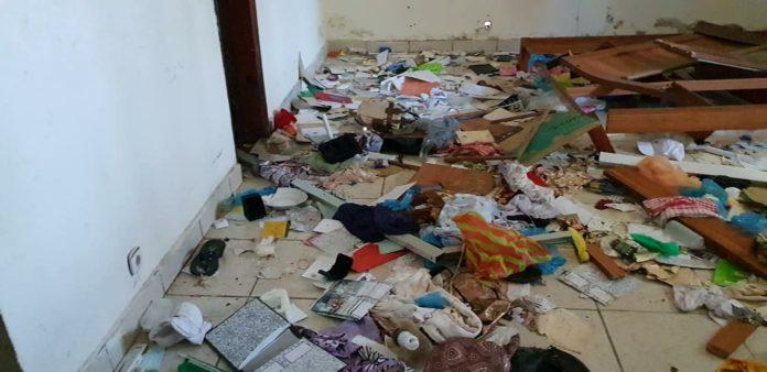 Pillage au domicile de la maman de Halimatou Dalein Diallo à Kindia