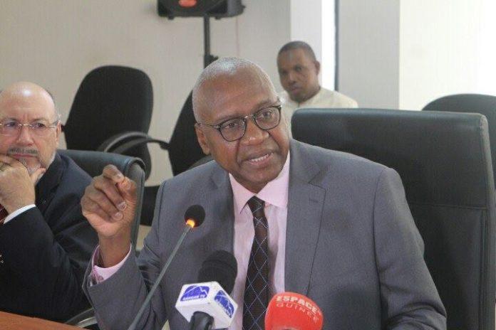 Le ministre de la justice guinéen Cheick sacko