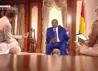 L'émission ''Internationales'' (diffusée sur RFI, TV5 Monde et dans le Journal ''le monde'') a donné la parole au président guinéen, le professeur Alpha Condé