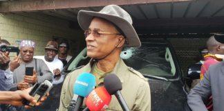 Impact de balles sur la voiture de Cellou Dalein Diallo