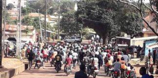 Labé : Les élèves dans les rues