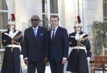 Alpha Condé et Emmanuel Macron à l'Élysée ce dimanche 11 novembre 2018