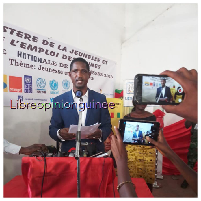 Mouctar Diallo ministre de la jeunesse et de l'emploi des jeunes