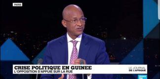 Cellou Dalein Diallo sur France24