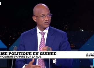Cellou Dalein Diallo sur France24
