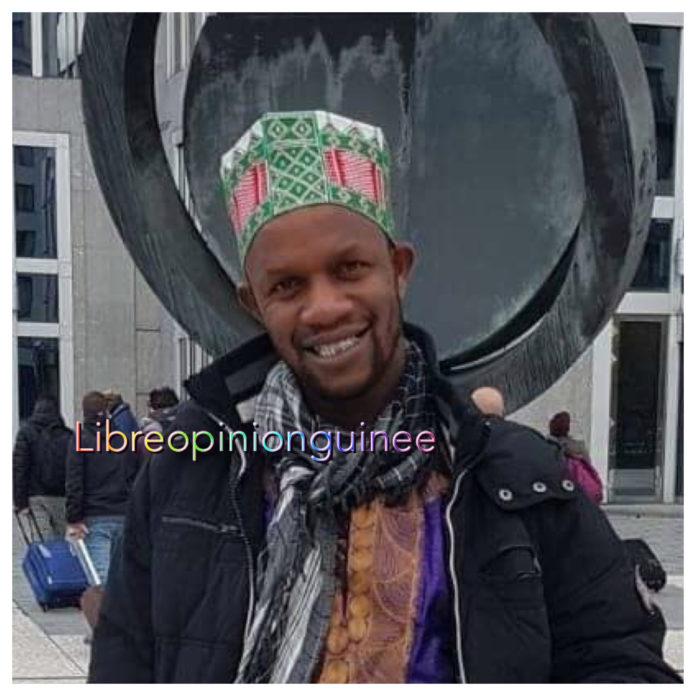 L'artiste humoriste Mamadou Thug