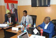 Mouctar Diallo ministre de la jeunesse et de l'emploi jeunes au projet BOCEJ