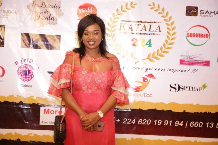 Diariatou Diallo DGA de l'Aguipe, conseillère du premier ministre Dr ibrahima Kassory Fofana