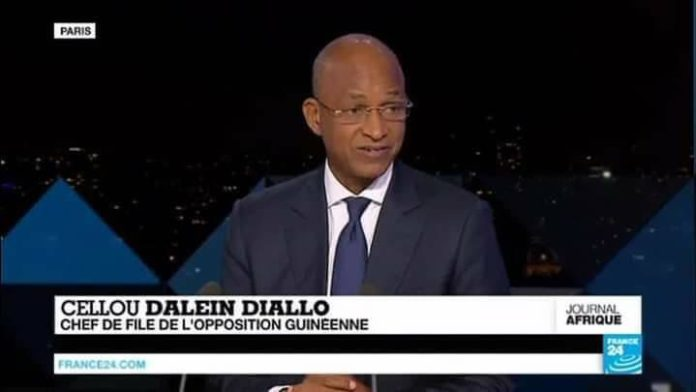 Cellou Dalein Diallo sur TV5
