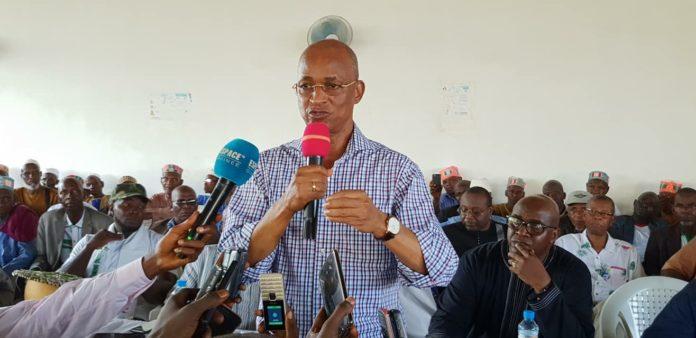 Elhadj Cellou Dalein Diallo, président de l'ufdg
