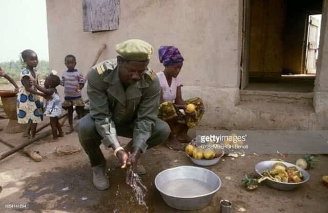 Le général Lansana Conté ancien président de la République de Guinée