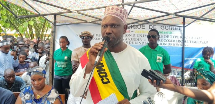 Abdoulaye Bah maire de l'ufdg Kindia