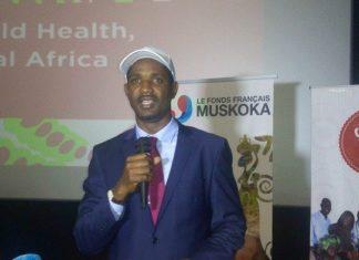 Mouctar Diallo ministre de la jeunesse et de l'emploi jeunes Guinée
