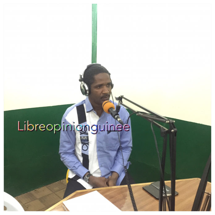 Mouctar Diallo, ministre de la jeunesse et de l'emploi des jeunes à la Radio GPP FM de Labé